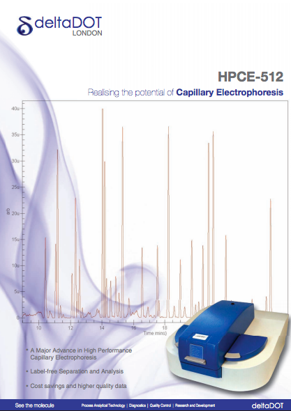 High Performance Capillary Electrophoresis - Brochure